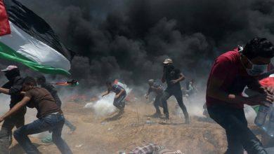 """صورة سقوط عشرات الشهداء خلال قمع الاحتلال للاحتجاجات … أمريكا تفتتح سفارتها بالقدس على وقع """"مجزرة"""" غزة"""