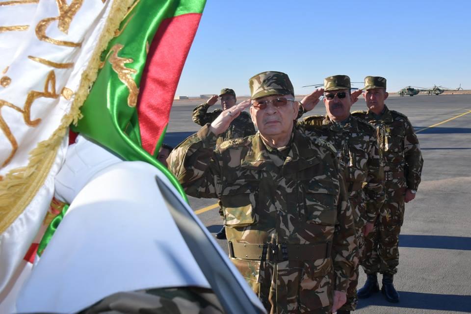 """صورة ڤايد صالح: """"الجزائر تستحق من كافة أبنائها أن يكونوا حصنها المنيع في هذه المرحلة الحاسمة"""""""