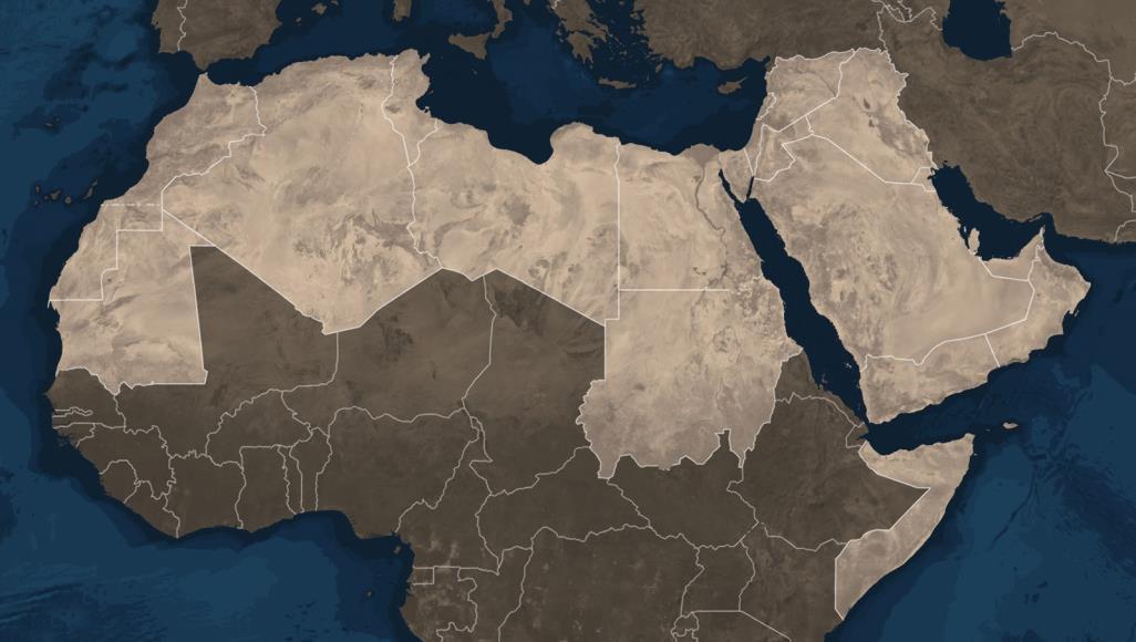 صورة موسم انكماش الخريطة العربية