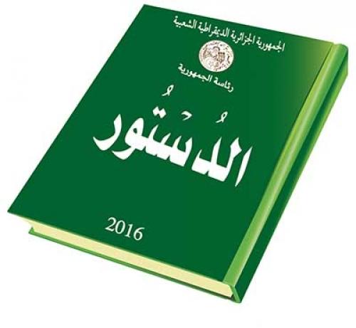 """صورة خبير دستوري لوكالة """"الأناضول"""": الدستور الجزائري يوفر مخرجا لأزمة البلاد"""