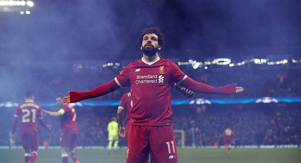 صورة صلاح العربي الوحيد في قائمة أفضل 100 لاعب في آخر ربع قرن