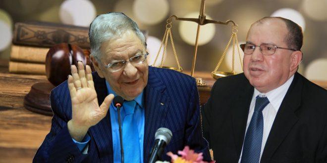صورة اللجنة المختصة بمجلس الأمة تستمع إلى بركات وولد عباس
