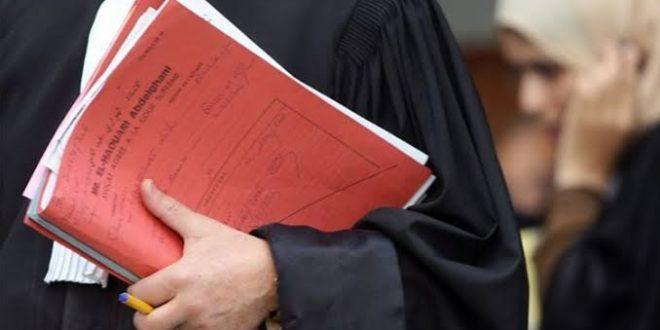 اتحاد المحامين يراسل البرلمان حول مشروع قانون المالية