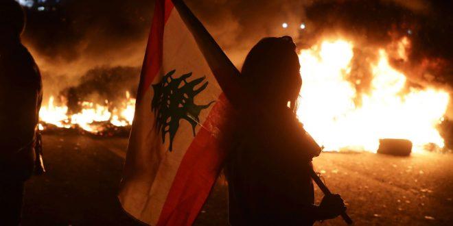 مواصلة الاحتجاجات ومقتل أحد كوادر الحزب التقدمي الاشتراكي في لبنان