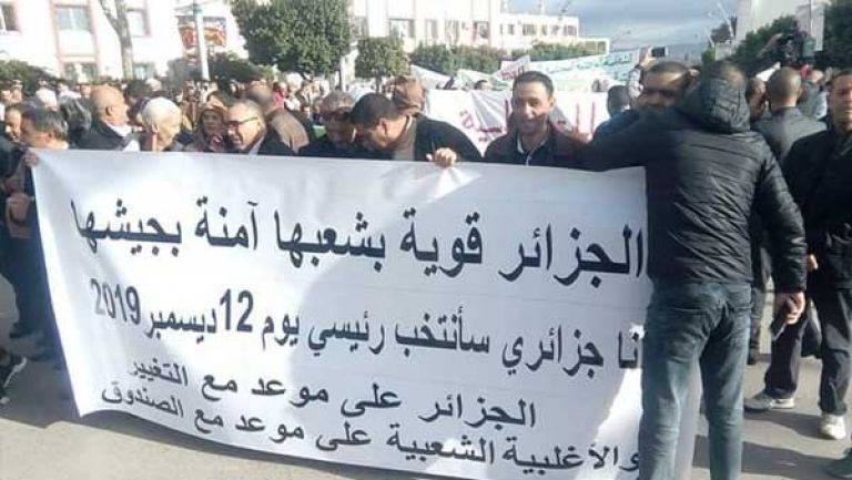 صورة مسيرات سلمية مساندة للانتخابات في 5 ولايات