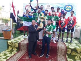 صورة المنتخب الجزائري للدراجات يفوز بالذهبية في البطولة العربية للطريق بمصر