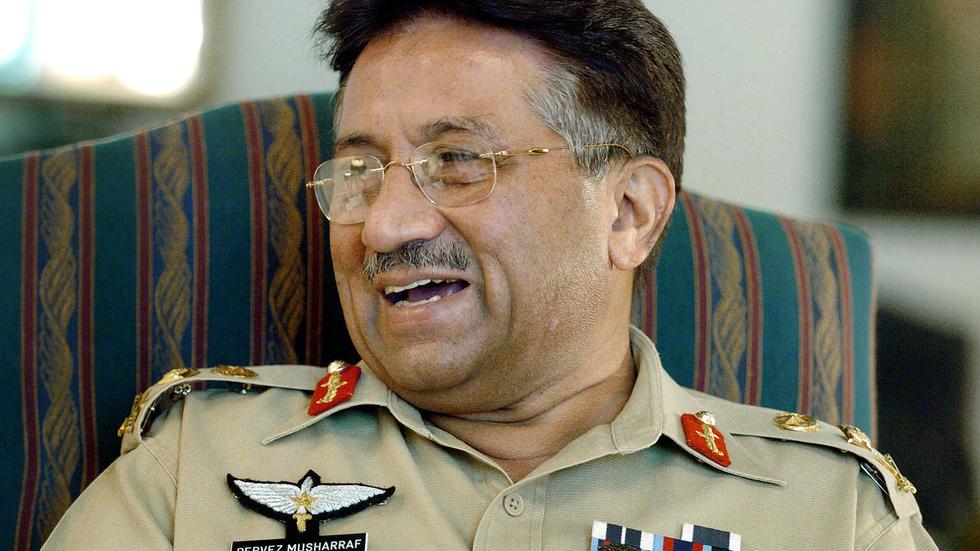 صورة الحكم بالإعدام على الرئيس الباكستاني الأسبق برويز مشرّف