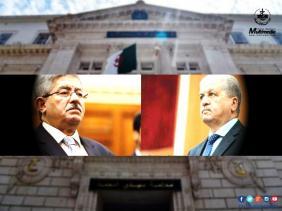 صورة محاكمة علنية لأويحيى وسلال .. والمتهمان ينكران