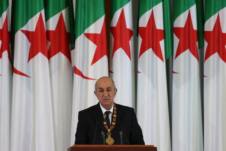 """صورة رئيس الجمهورية يباشر مهامه: """"استعادة ثقة الشعب وهيبة الدولة من الأولويات"""""""