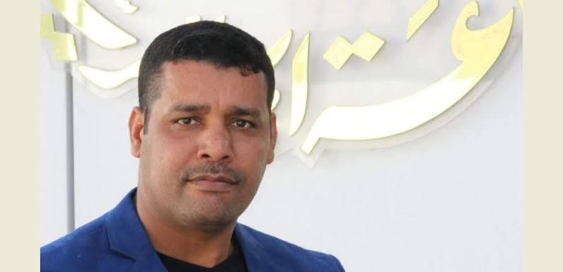 صورة البراءة للصحافي الإذاعي عادل عازب الشيخ