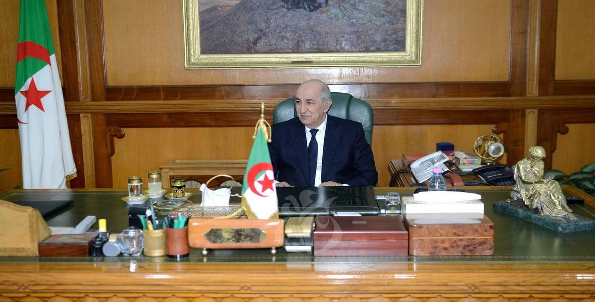 صورة مرسوم رئاسي يمنع تبادل الهدايا بين المسؤولين الجزائريين