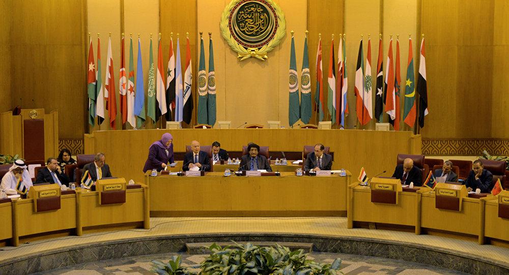 صورة تحرك من الجامعة العربية قبل ساعات من نشر تفاصيل صفقة القرن