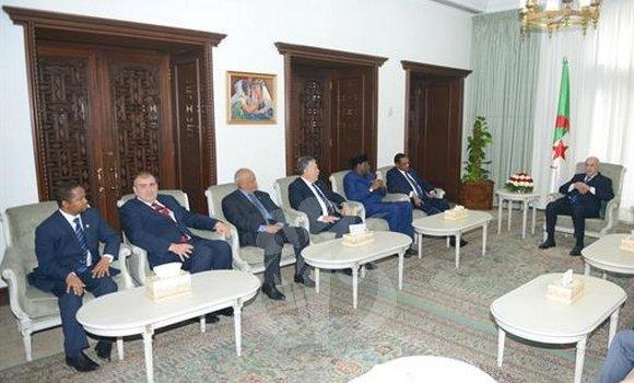صورة تبون: الجزائر ستبذل كل ما بوسعها لحقن الدماء في ليبيا