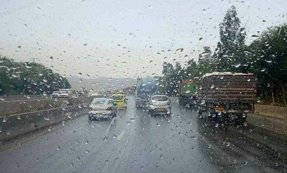 صورة استمرار الأمطار بغرب البلاد