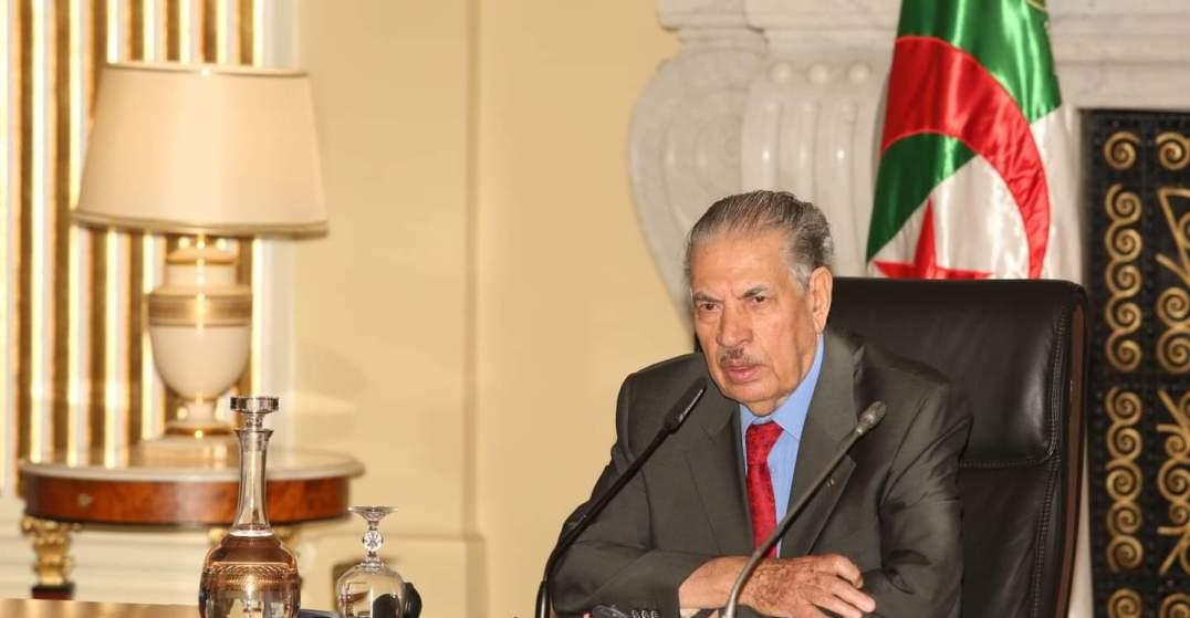 صورة قوجيل يترأس اجتماعا موسعا للتباحث حول الدور الذي سيضطلع به المجلس في المرحلة المقبلة
