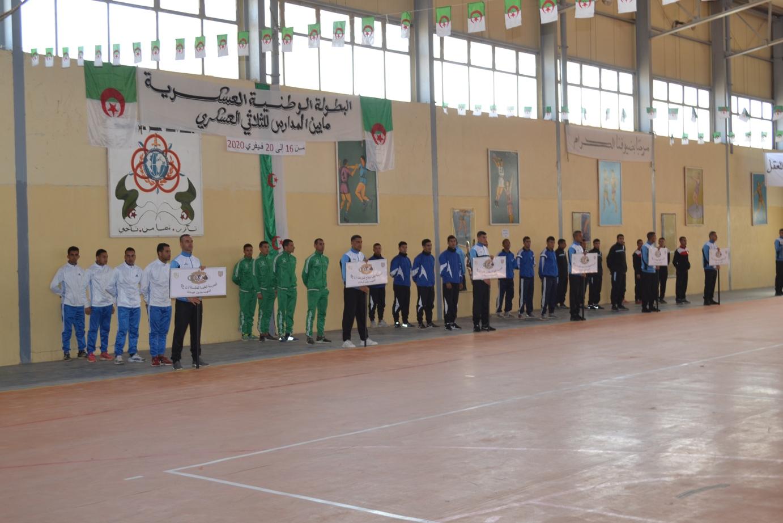 صورة البطولة الوطنية العسكرية ما بين المدارس للثلاثي العسكري على مستوى المدرسة العليا للقوات الخاصة ببسكرة