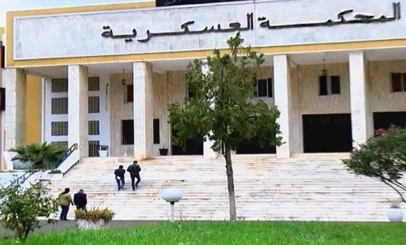 صورة حضور جميع المتهمين في قضية التآمر ضد سلطة الدولة والجيش ماعدا عثمان طرطاق