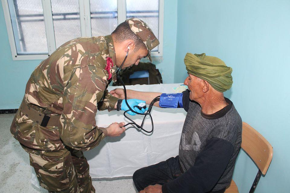صورة انطلاق المرحلة الثانية من حملة التكفل الطبي بسكان المناطق النائية في سواق أهراس