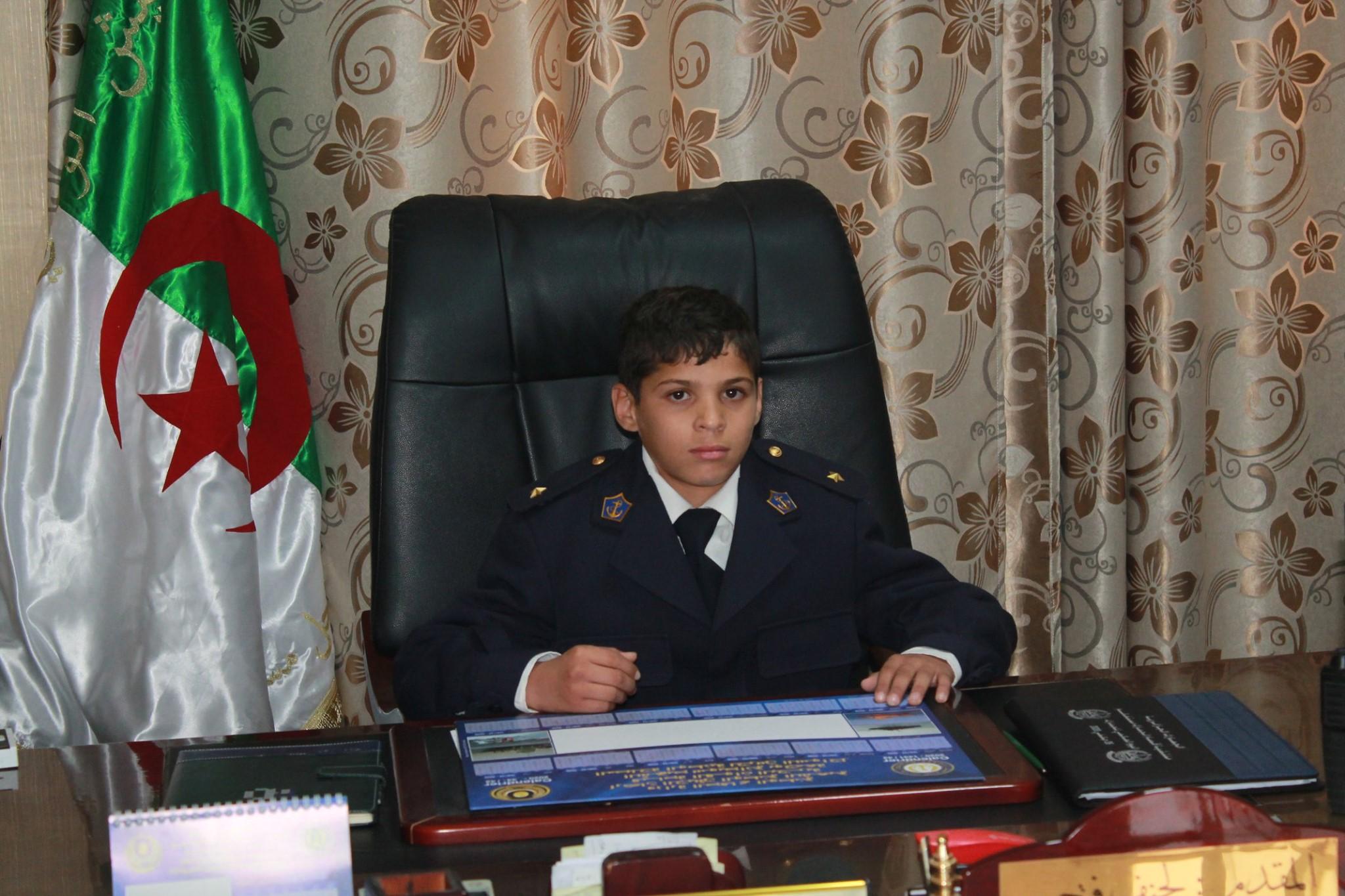 """صورة تعزيزا للرابطة جيش أمة """"تحقيق حلم الطفل معاشو عبد القادر"""""""