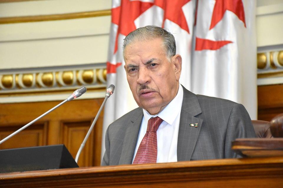 صورة صالح قوجيل يأمر بعقلنة وترشيد النفقات بمجلس الأمة