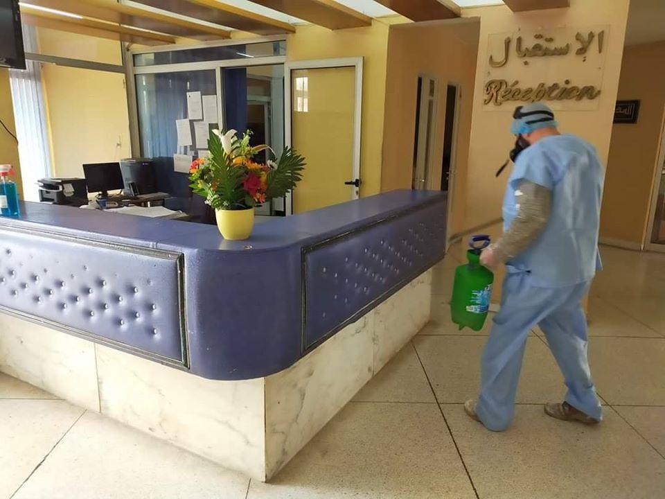 صورة وضع 30 مؤسسة فندقية عمومية وخاصة تحت تصرف السلطات العمومية