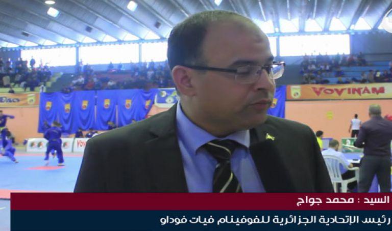 """صورة رئيس الاتحادية الجزائرية للفوفينام فيات فو داو:""""لم نتلق أي رد من المؤسسات الراعية"""""""