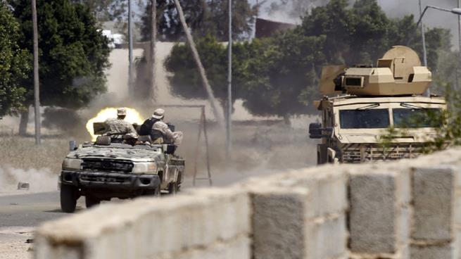 """صورة تعتبر آخر معاقل حفتر في محيط طرابلس: قوات """"الوفاق"""" الليبية تتقدم نحو ترهونة"""
