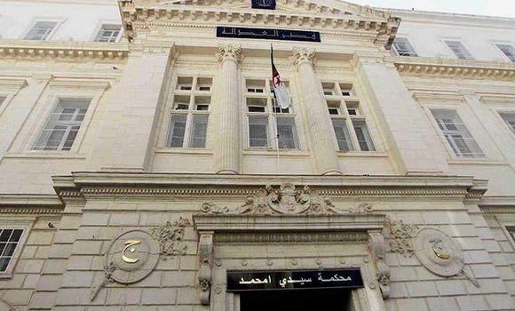 صورة محكمة سيدي امحمد: إدانة جمال ولد عباس وسعيد بركات على التوالي بـ8 سنوات و4 سنوات سجن نافذ