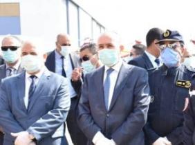 صورة وزير الداخلية يدعو إلى التجند واليقظة الدائمة للاستجابة لمختلف الاحتياجات والتعامل مع أي طارئ