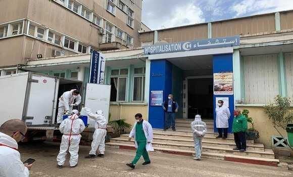صورة فيروس كورونا: توزيع كميات من مستلزمات الوقاية لفائدة بعض مستشفيات الوطن