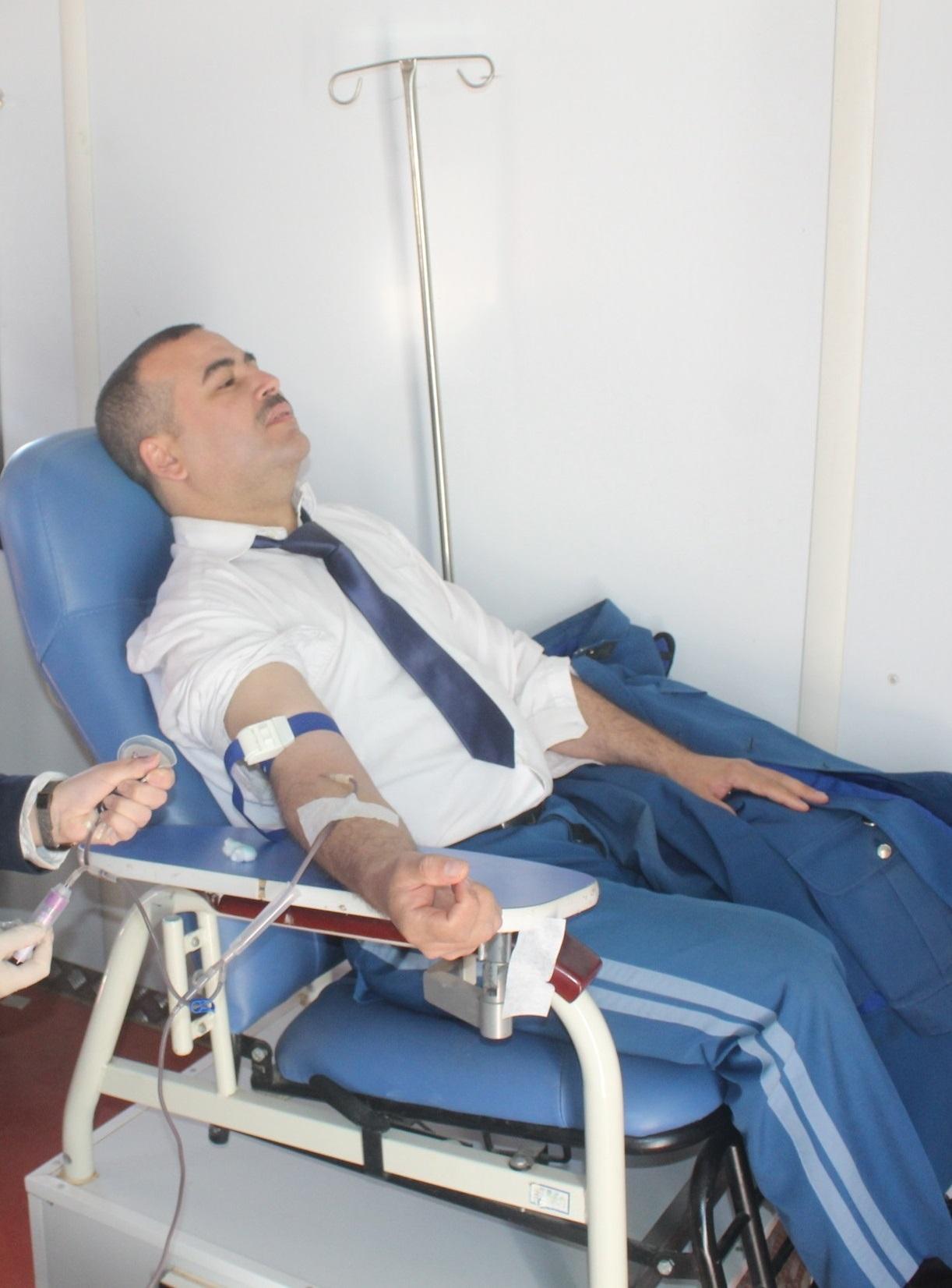 صورة أشرف على انطلاق الحملة خليفة أونيسي: المديرية العامة للأمن الوطني تطلق حملة وطنية للتبرع بالدم