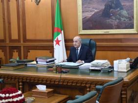 صورة الرئيس تبون يترأس الأحد الاجتماع الدوري لمجلس الوزراء