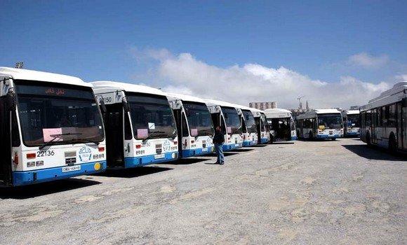 صورة الجزائر العاصمة :157 حافلة لنقل مستخدمي الصحة يوميا منذ فرض الحجر المنزلي