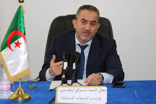صورة وزير الموارد المائية أرزقي براقي: مراجعة تسعيرة الماء الشروب غير واردة اطلاقا