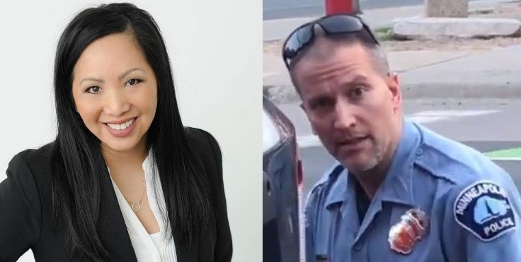 صورة زوجة الشرطي المتهم بقتل فلويد تطلب الطلاق بعد القبض عليه