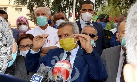 """صورة وزير الصحة: معطيات المنصة الرقمية لإحصاء حالات كوفيد-19 """"تؤخذ من مديريات الصحة"""""""