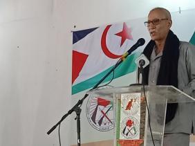 صورة غالي : لا يمكن أن تقبل بأي حل لا يضمن حق الشعب الصحراوي في تقرير المصير والاستقلال