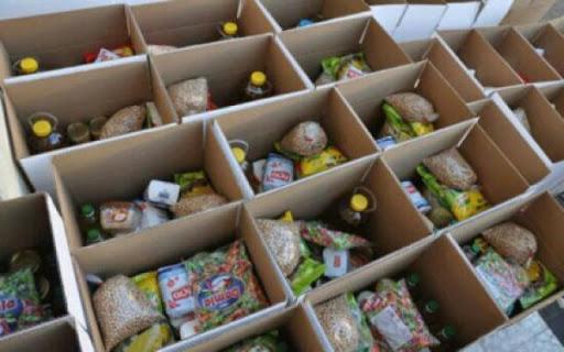 صورة توزيع 2215 طرد غذائي على المعوزين في ميلة