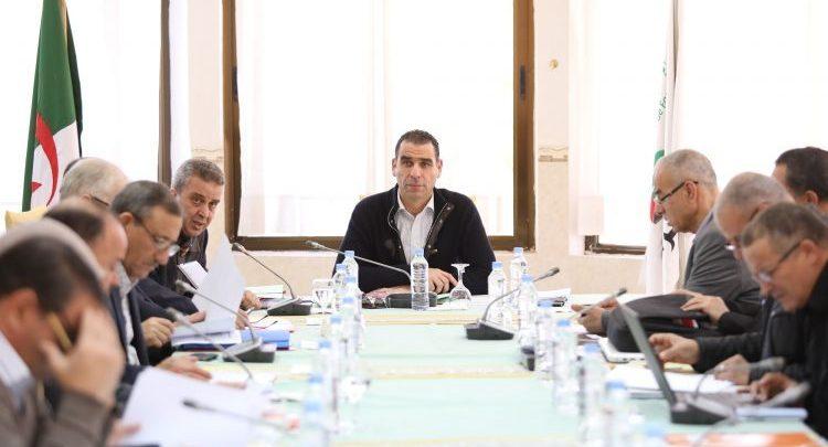 صورة اجتماع المكتب الفيدرالي هذا الثلاثاء لدراسة تقارير الربطات الكروية واللجان التابعة للفاف