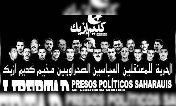 صورة يقبعون في السجون المغربية: اللجنة الصحراوية لحقوق الانسان تجدد دعوتها لحماية المعتقلين السياسيين الصحراوين