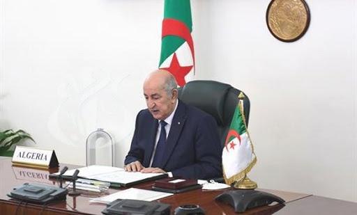 """صورة الرئيس تبون يشارك في أشغال """"القمة الصينية –الإفريقية"""" ويؤكد: الجزائر تدعو المؤسسات المالية الدولية إلى """"فك الخناق عن الدول النامية"""""""