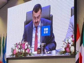 """صورة عرقاب يدعو الدول الأعضاء في """"أوبك"""" إلى المزيد من العمل من أجل توازن سوق النفط"""