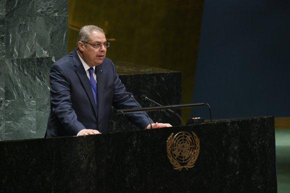 صورة بدعم من المجموعة الإفريقية لنيويورك انتخاب سفيان ميموني على رأس لجنة المؤتمرات للجمعية العامة لمنظمة الأمم المتحدة