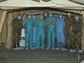 صورة الرئيس تبون يضع مستشفى عسكريًا ميدانيًا وفريقًا طبيًا تحت تصرف لبنان