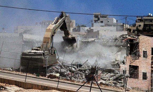 صورة الاحتلال الإسرائيلي هدم 3300 مسكن في الضفة الغربية