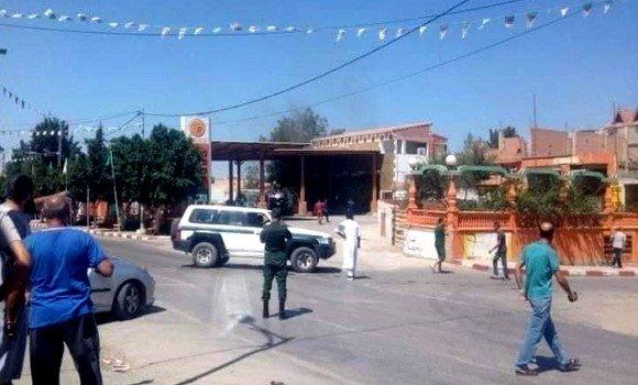 """صورة تيبازة: حريق بمحطة بنزين يصيب شخصا بجروح """"خطيرة"""""""