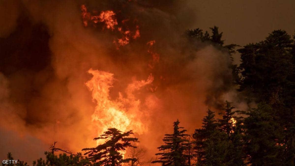 """صورة كاليفورنيا.. قتلى في الحرائق """"الأكثر دموية"""" هذا العام"""