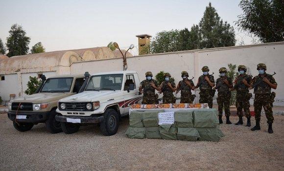 صورة مكافحة الإرهاب والجريمة:  عمليات عديدة ونتائج نوعية للجيش الوطني الشعبي خلال الاسبوع الاخير