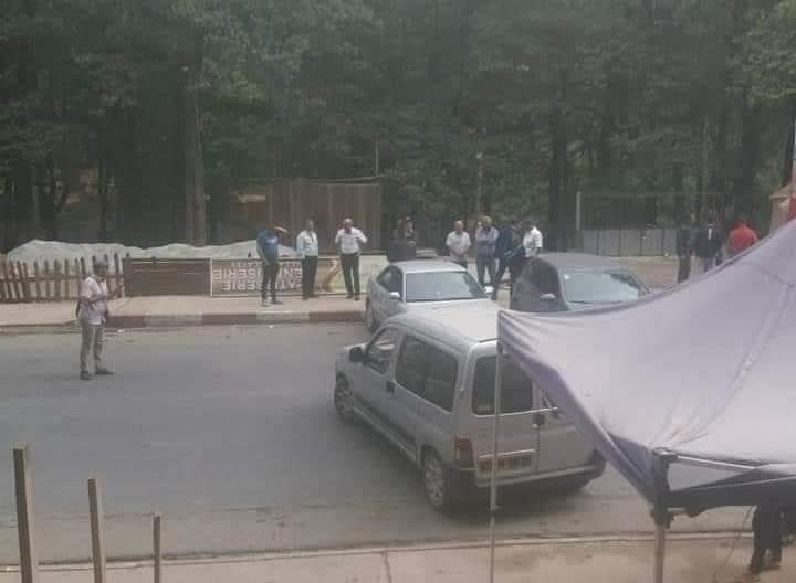 صورة شوارع مغلقة واحتجاجات بتيزي وزو