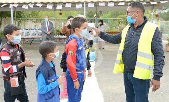 صورة الجزائر العاصمة: ارتياح للاحترام التام للبروتوكول الصحي في أول أيام الدخول المدرسي